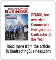 Remco, Inc. Awarded Commercial Refrigeration Contractor of the Year